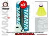badmintonové míče KARAKAL NATIONAL 5PACK